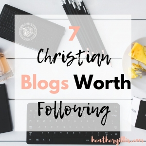 7 Blogs worth following