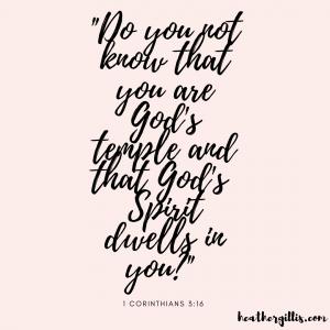 Self-Carr Bible Verse
